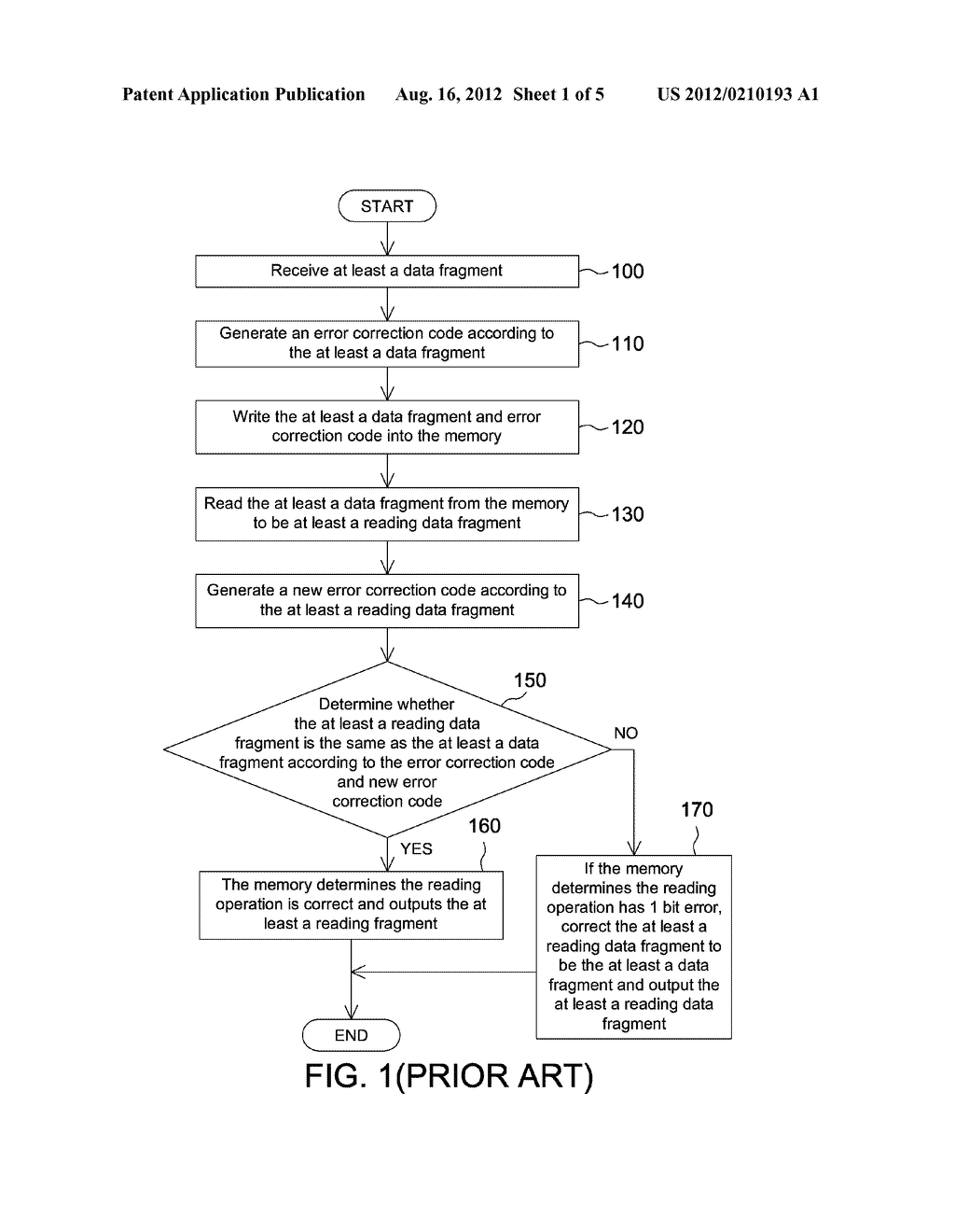 MEMORY AND METHOD FOR CHECKING READING ERRORS THEREOF - diagram, schematic, and image 02