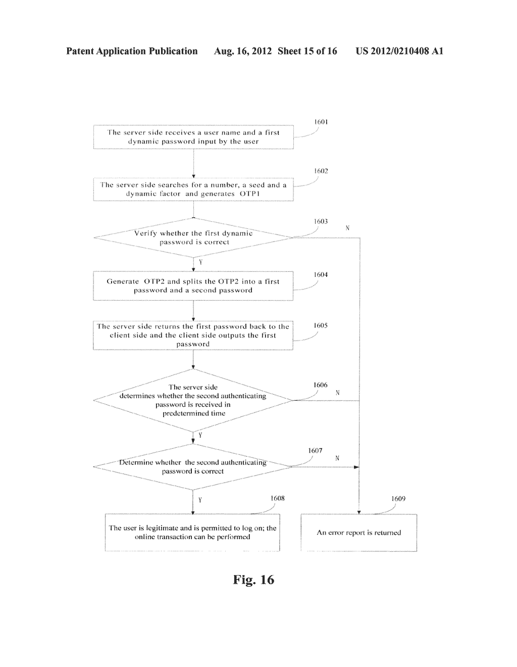 VERIFICATION METHOD AND SYSTEM THEREOF - diagram, schematic, and image 16