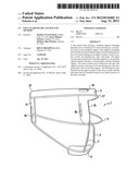 FACE GUARD FRAME, SYSTEM AND METHOD diagram and image