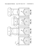 METHOD AND APPARATUS FOR THE TWO STAGE FILLING OF FLEXIBLE POUCHES diagram and image