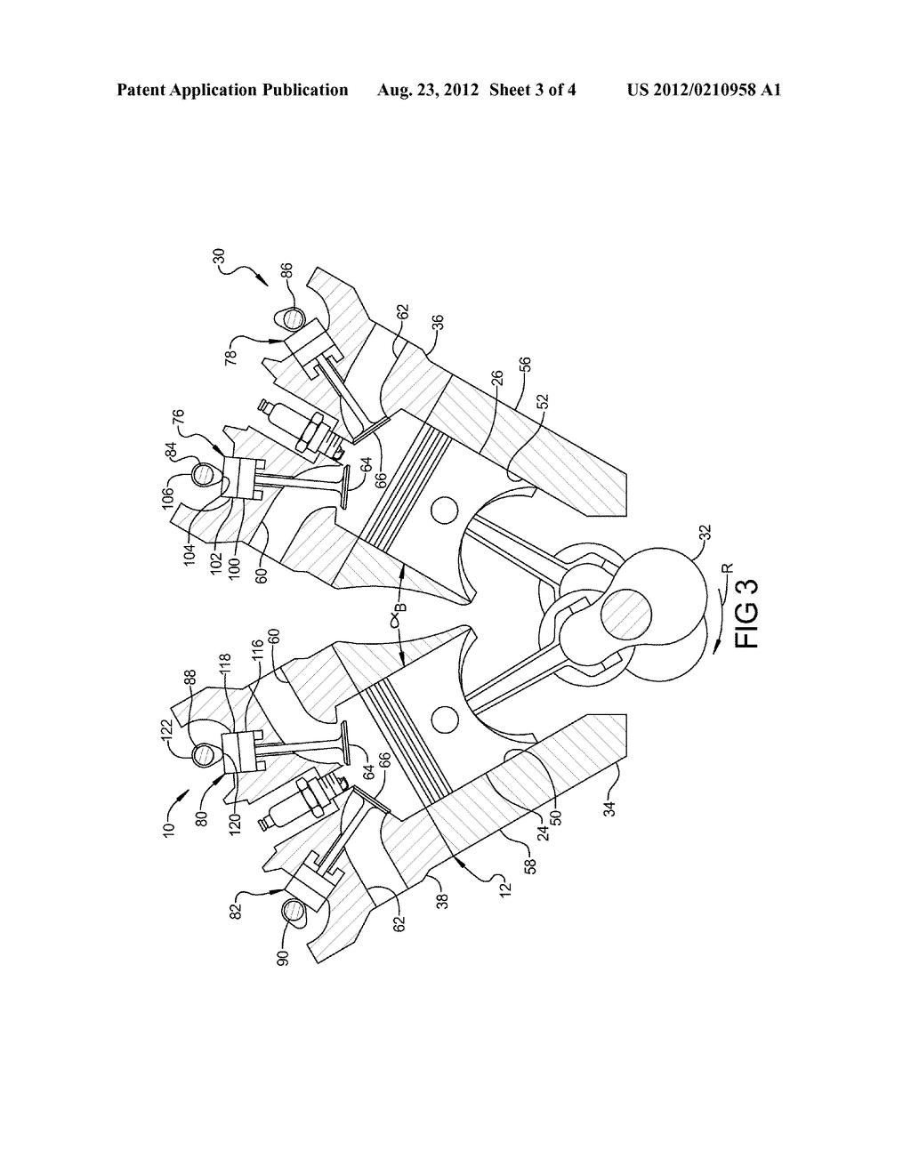 ENGINE ASSEMBLY INCLUDING CRANKSHAFT FOR V8 ARRANGEMENT - diagram, schematic,  and image 04