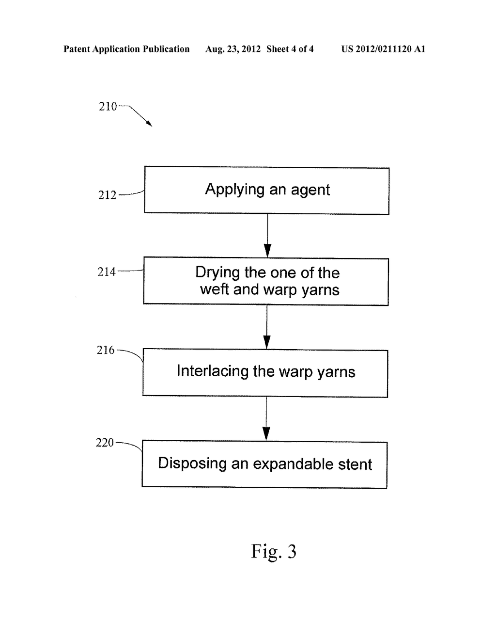 IMPLANTABLE GRAFT DEVICE HAVING TREATED YARN AND METHOD FOR MAKING SAME - diagram, schematic, and image 05