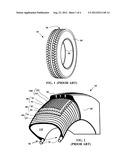 TIRE FOR HEAVY GOODS VEHICLE HAVING A REINFORCED BEAD diagram and image