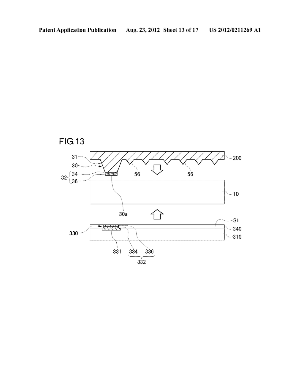 DEVICE MOUNTING BOARD AND METHOD OF MANUFACTURING THE SAME, SEMICONDUCTOR     MODULE, AND MOBILE DEVICE - diagram, schematic, and image 14