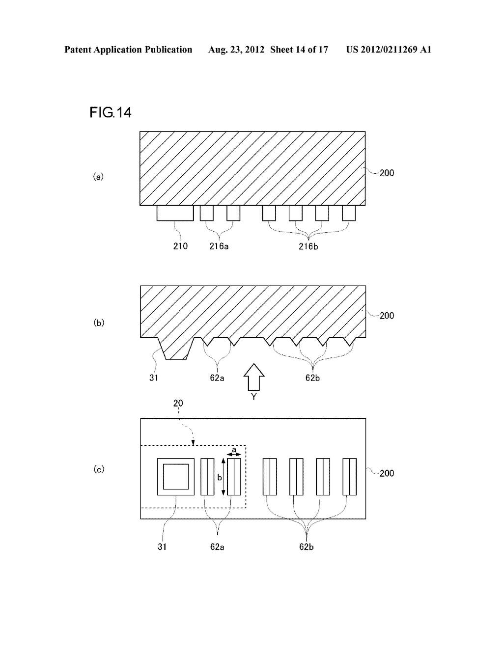 DEVICE MOUNTING BOARD AND METHOD OF MANUFACTURING THE SAME, SEMICONDUCTOR     MODULE, AND MOBILE DEVICE - diagram, schematic, and image 15