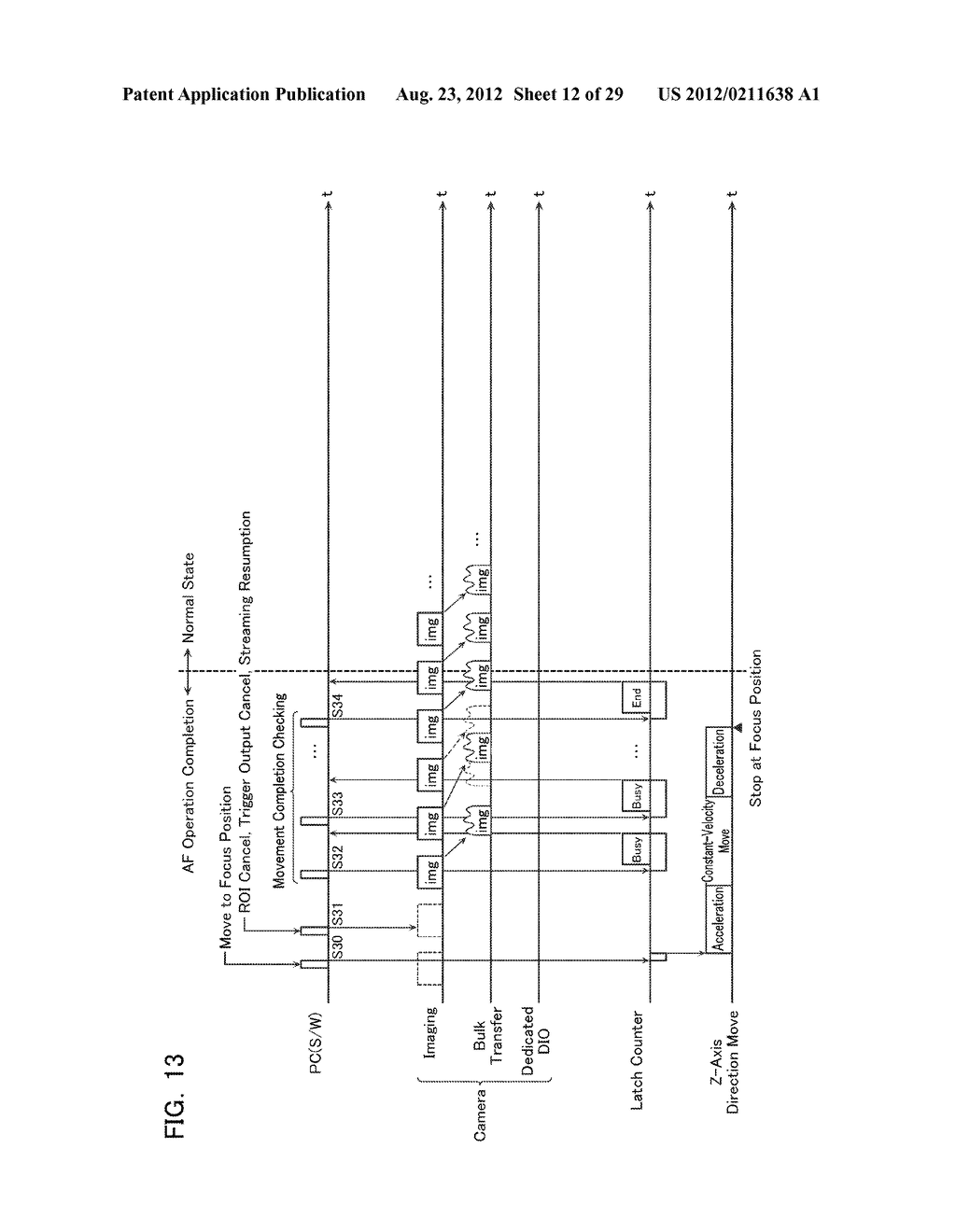 VISION MEASURING DEVICE AND AUTO-FOCUSING CONTROL METHOD - diagram, schematic, and image 13