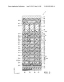 SEMICONDUCTOR MEMORY DEVICE AND METHOD FOR MANUFACTURING SAME diagram and image