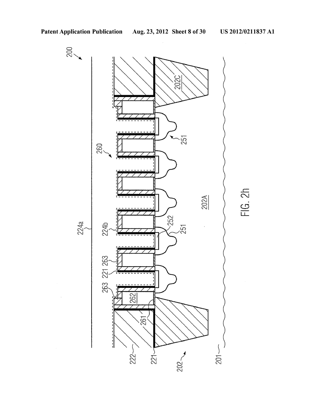 SEMICONDUCTOR DEVICE COMPRISING SELF-ALIGNED CONTACT ELEMENTS - diagram, schematic, and image 09