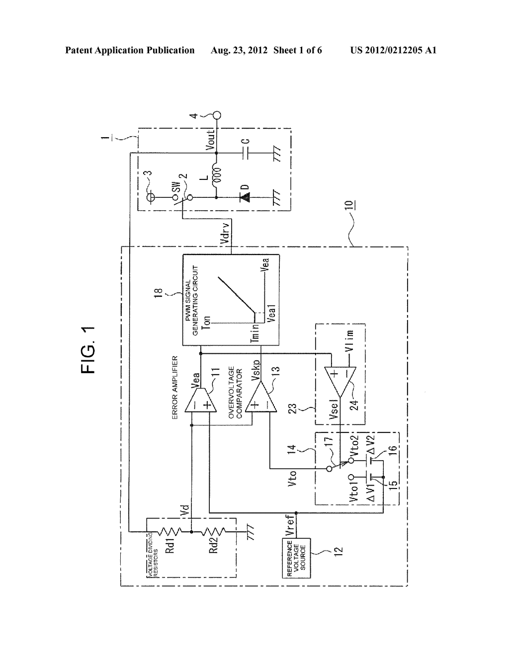 CONTROL SYSTEM OF DC TO DC CONVERTER - diagram, schematic, and image 02