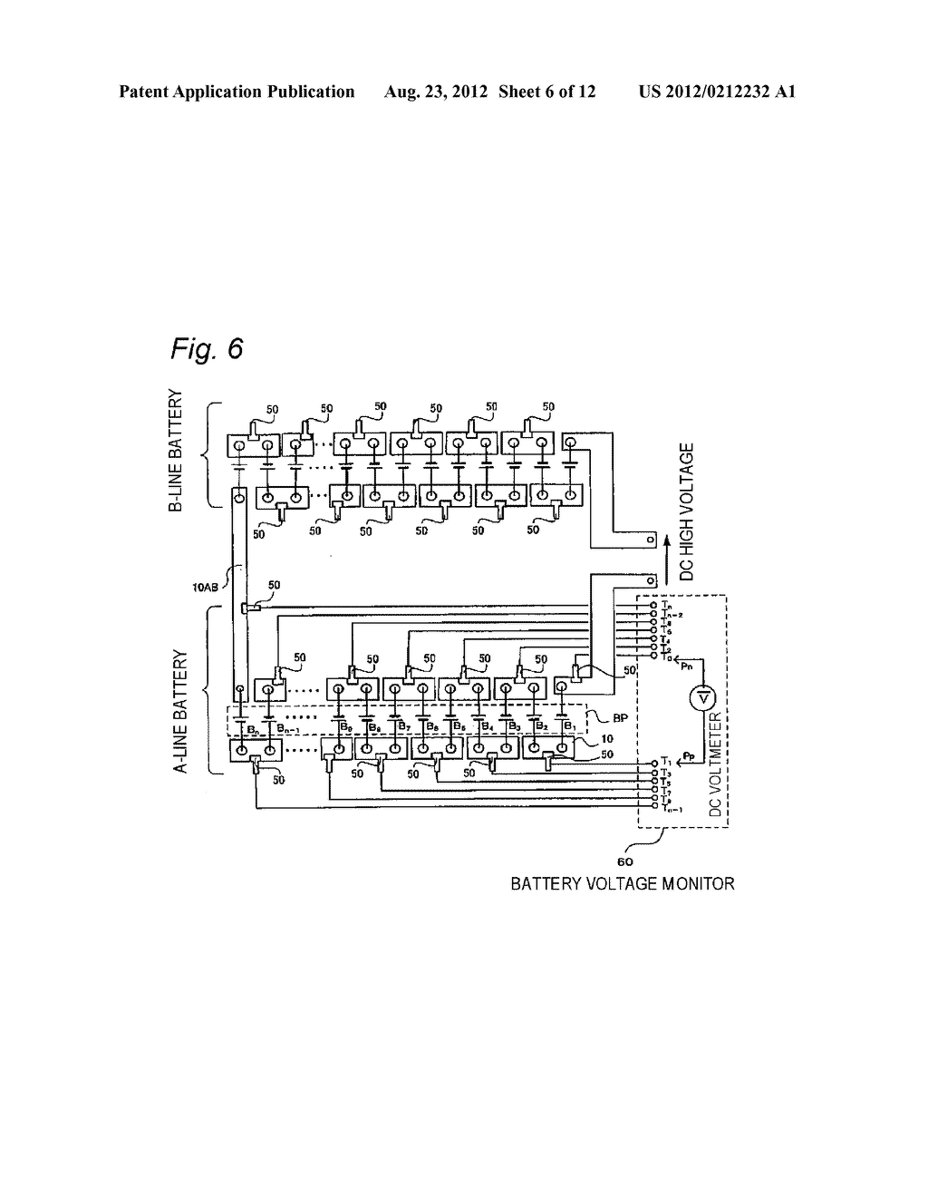 Busbar For Battery Electrode Post Connection And Voltage 12 Volt Bus Bar Wiring Diagram Monitor Using The Same Schematic Image 07