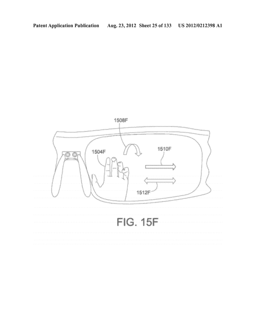 SEE-THROUGH NEAR-EYE DISPLAY GLASSES INCLUDING A PARTIALLY REFLECTIVE,     PARTIALLY TRANSMITTING OPTICAL ELEMENT - diagram, schematic, and image 26