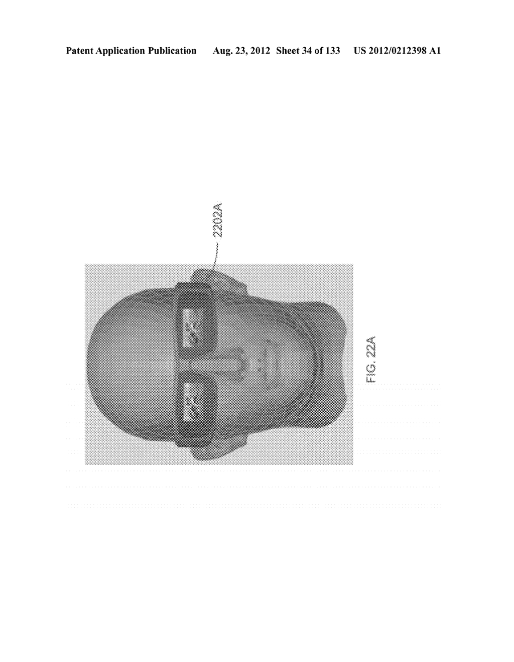 SEE-THROUGH NEAR-EYE DISPLAY GLASSES INCLUDING A PARTIALLY REFLECTIVE,     PARTIALLY TRANSMITTING OPTICAL ELEMENT - diagram, schematic, and image 35
