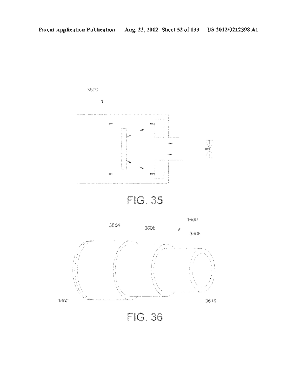 SEE-THROUGH NEAR-EYE DISPLAY GLASSES INCLUDING A PARTIALLY REFLECTIVE,     PARTIALLY TRANSMITTING OPTICAL ELEMENT - diagram, schematic, and image 53