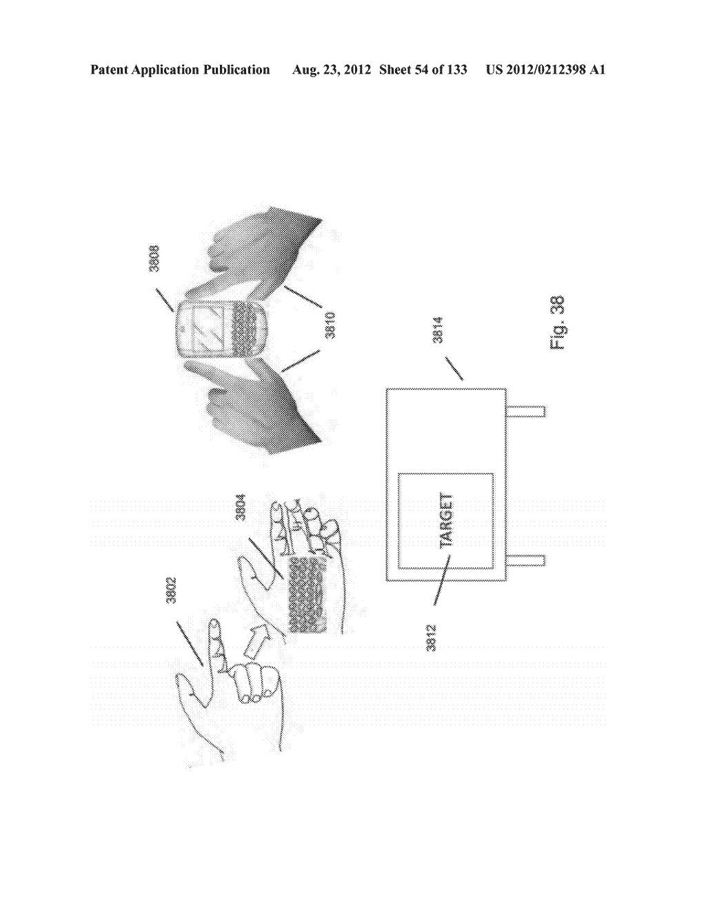 SEE-THROUGH NEAR-EYE DISPLAY GLASSES INCLUDING A PARTIALLY REFLECTIVE,     PARTIALLY TRANSMITTING OPTICAL ELEMENT - diagram, schematic, and image 55
