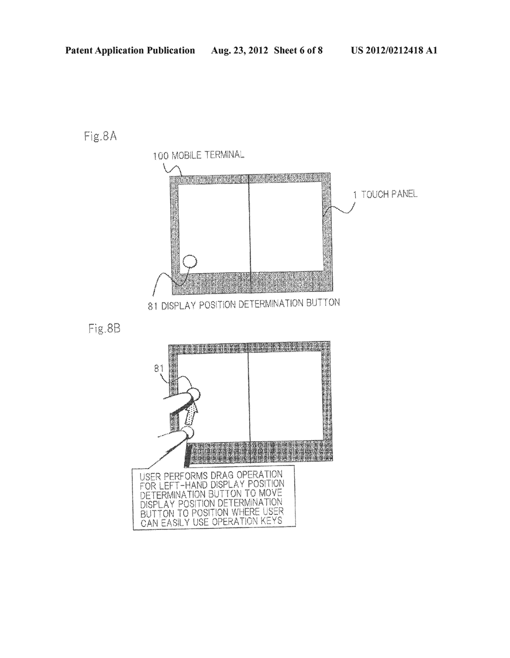 MOBILE TERMINAL AND DISPLAY METHOD - diagram, schematic, and image 07