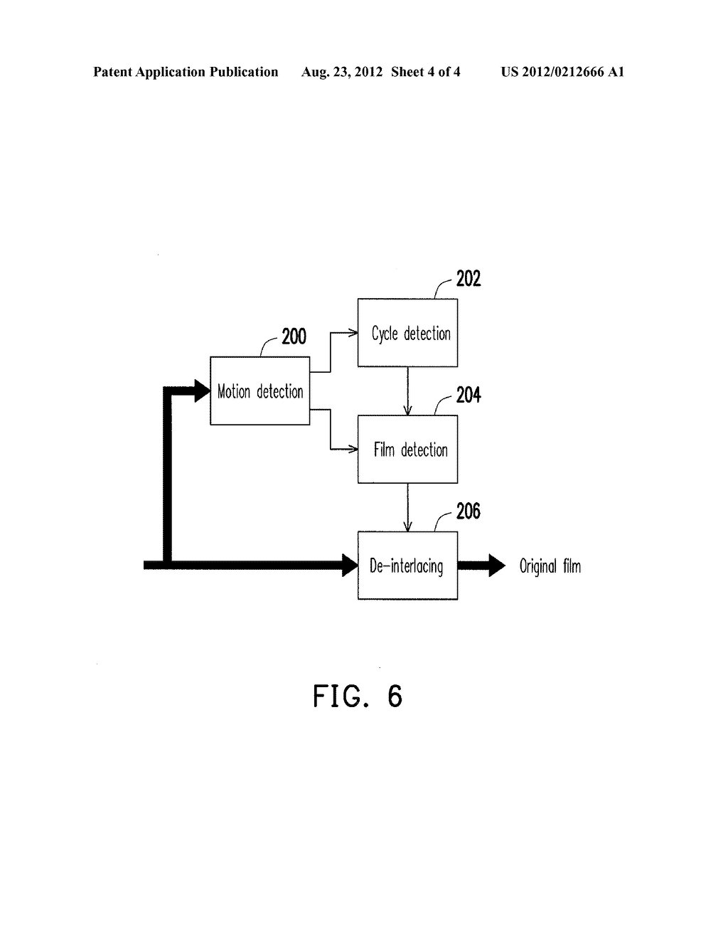 APPARATUS AND METHOD FOR DETECTING FLEXIBLE VIDEO CADENCE - diagram, schematic, and image 05