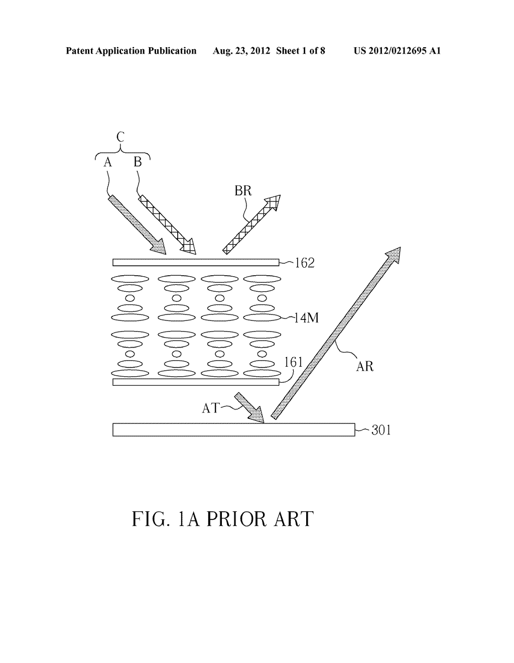 REFLECTIVE LIQUID CRYSTAL DISPLAY DEVICE AND MANUFACTURING METHOD THEREOF - diagram, schematic, and image 02