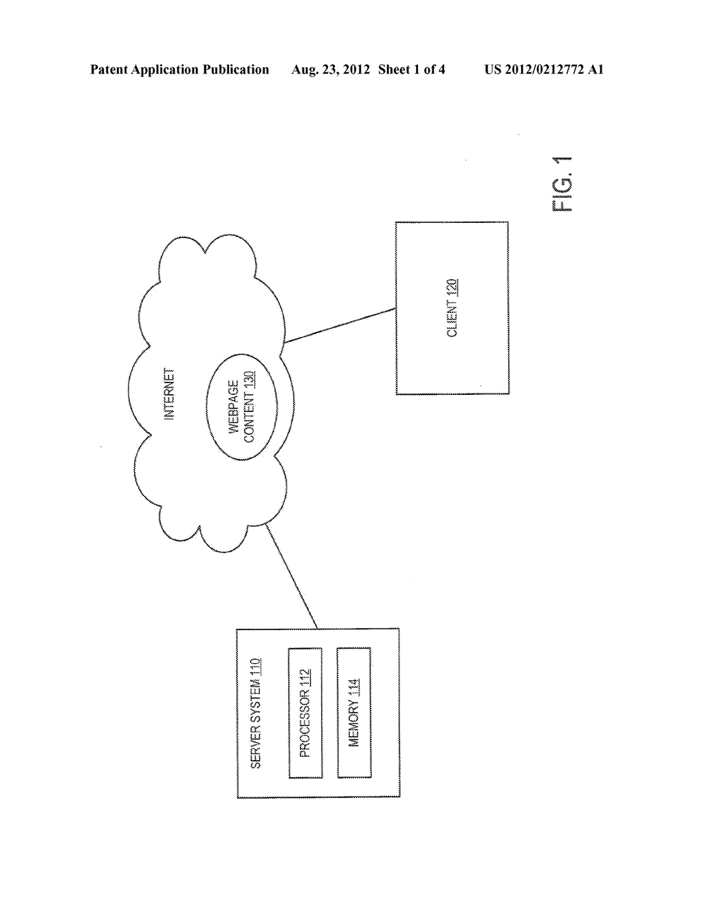 METHOD AND SYSTEM FOR PROVIDING PRINT CONTENT TO A CLIENT - diagram, schematic, and image 02