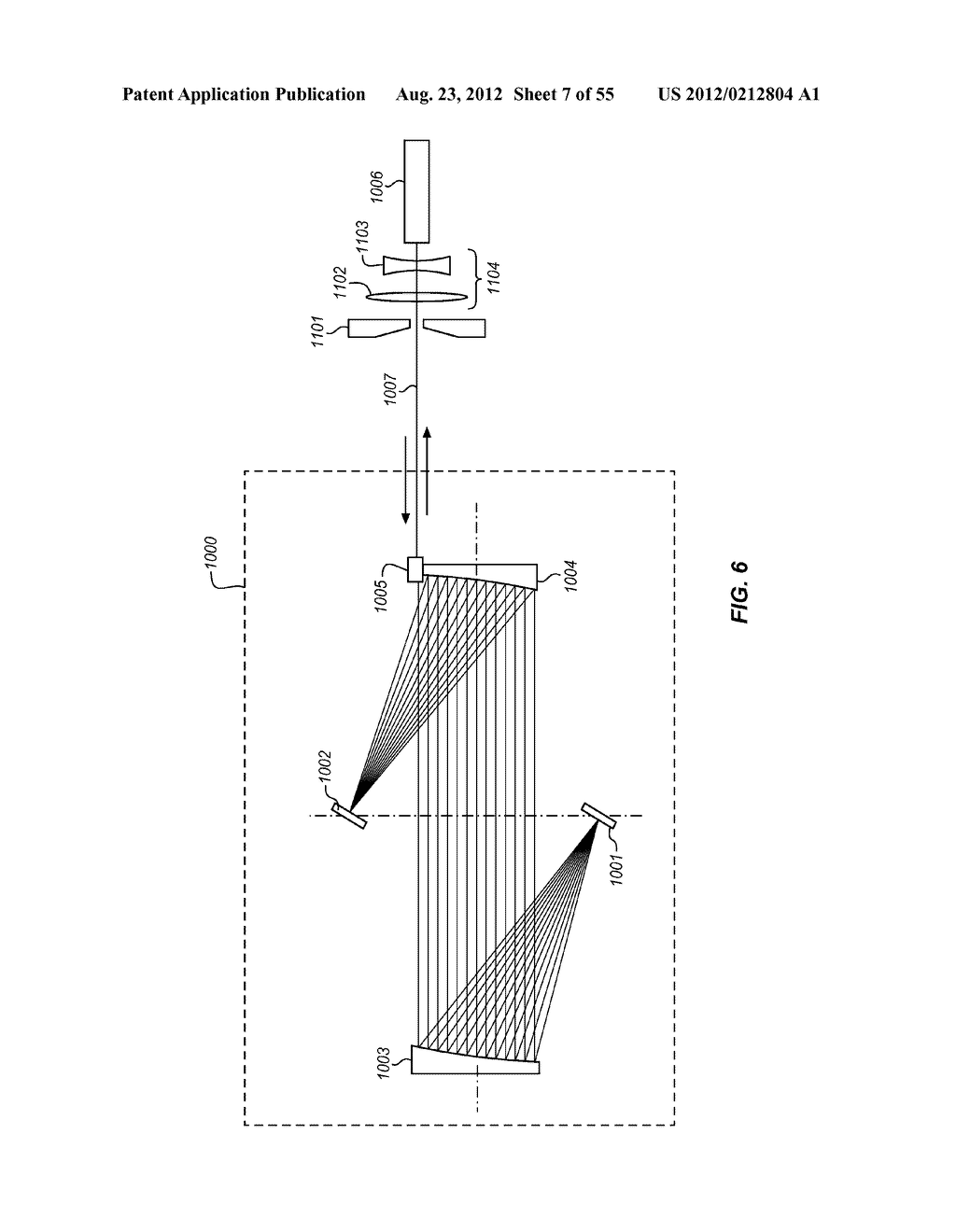 MULTI-PASS OPTICAL SYSTEM FOR A PUMP LASER - diagram, schematic, and image 08