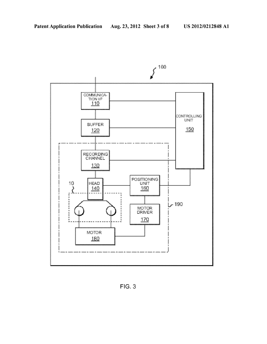 OVERWRITE CONTROL METHOD FOR DATA IN TAPE RECORDING APPARATUS, AND TAPE     RECORDING APPARATUS - diagram, schematic, and image 04