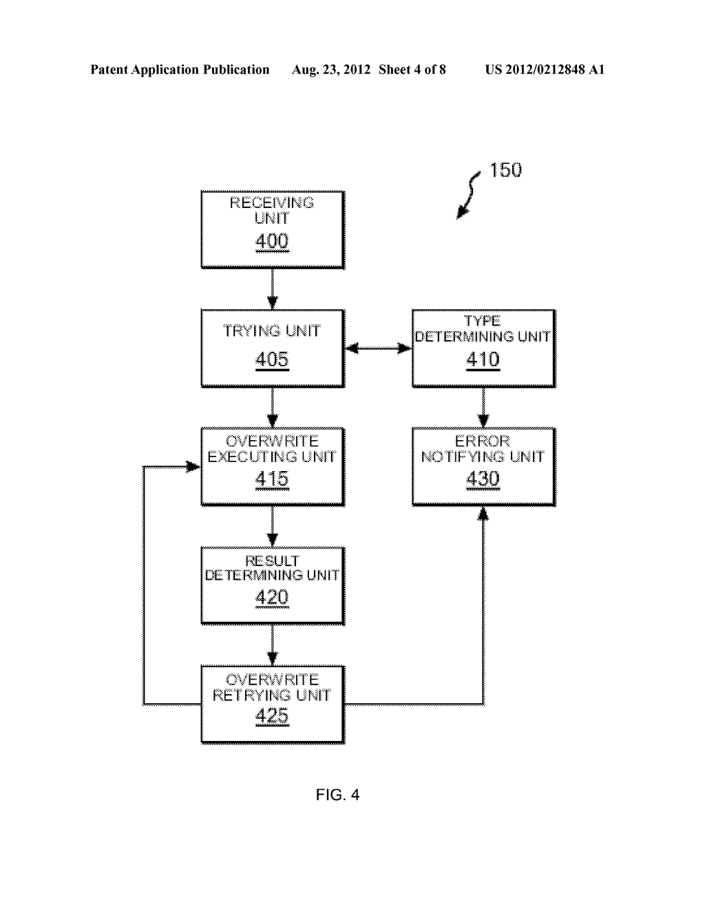 OVERWRITE CONTROL METHOD FOR DATA IN TAPE RECORDING APPARATUS, AND TAPE     RECORDING APPARATUS - diagram, schematic, and image 05