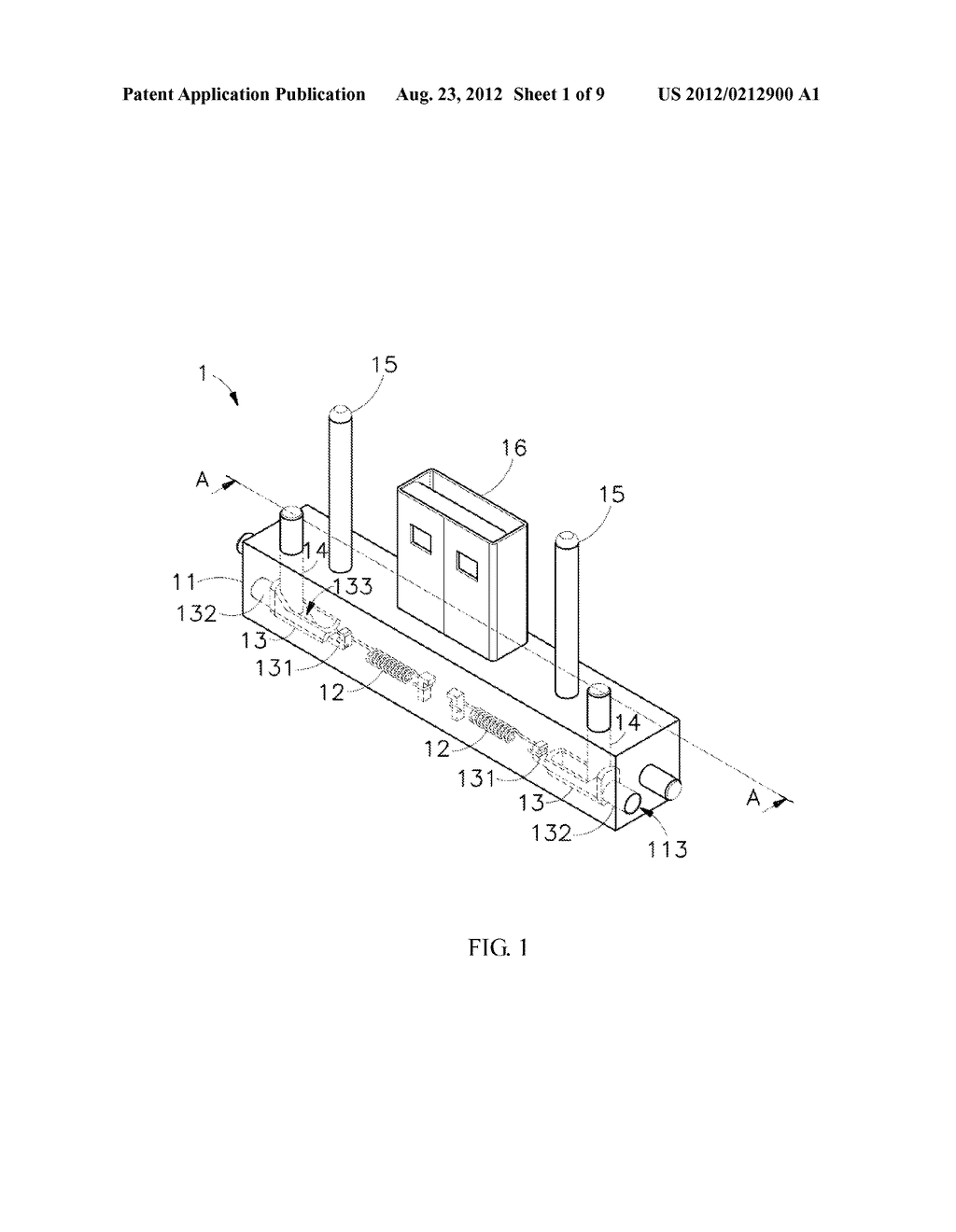 Hinge Device and Docking Station Using the Same - diagram, schematic, and image 02