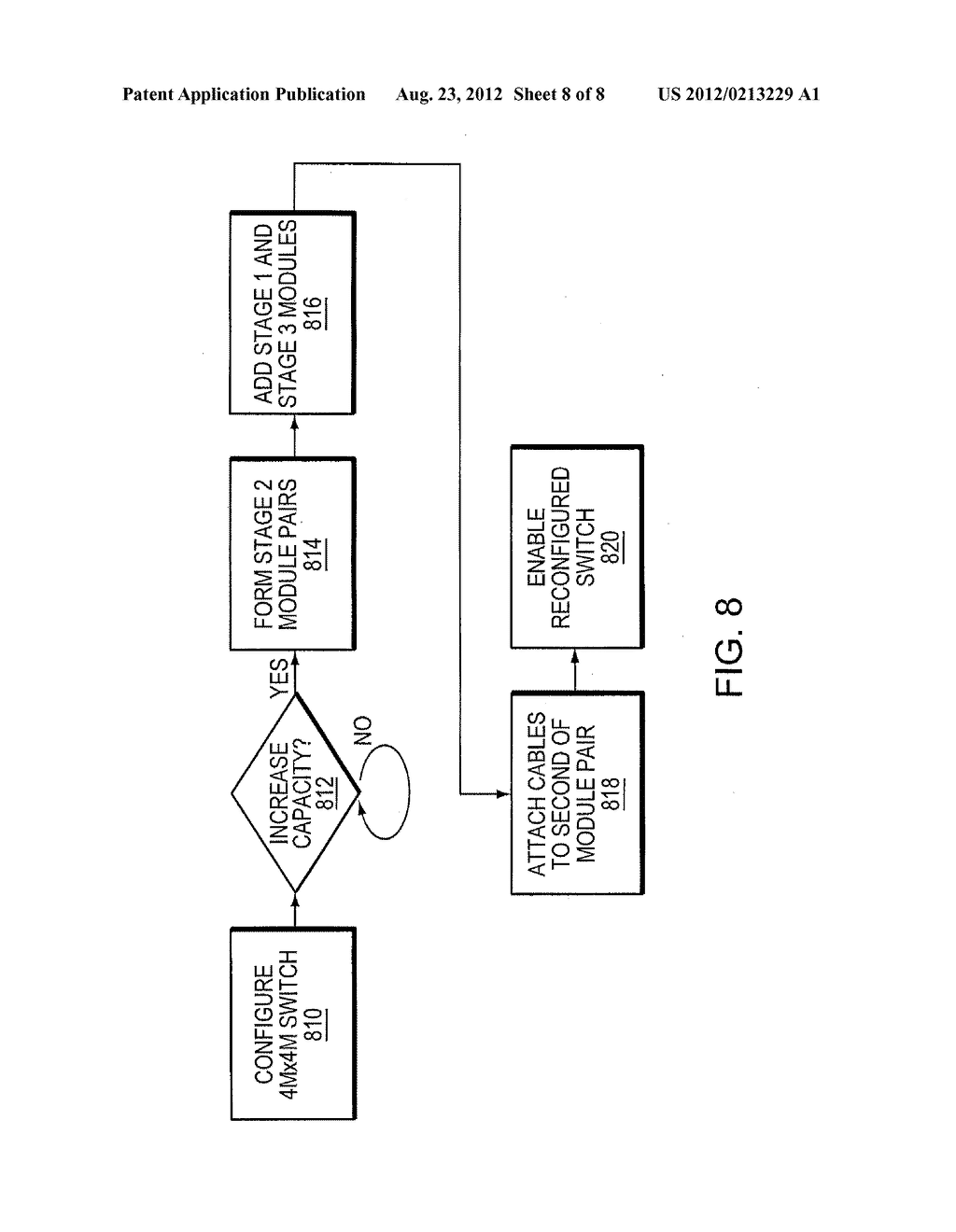 Method and Apparatus for an Expandable Switching Element - diagram, schematic, and image 09