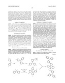 TETRAPHENYLSILANE COMPOUNDS SUITABLE AS ORGANIC HOLE-TRANSPORT MATERIALS diagram and image