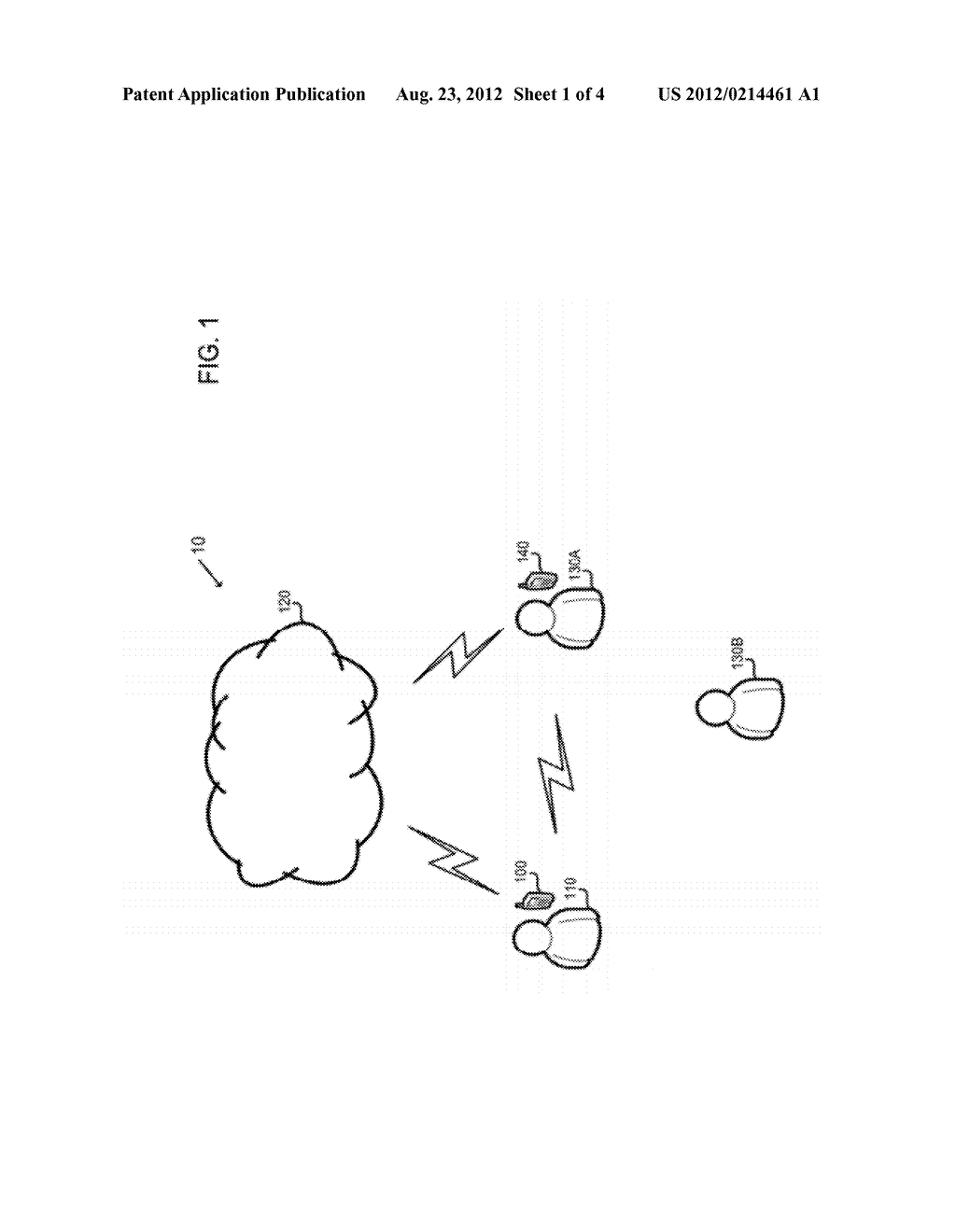WIRELESS DEVICES AND METHODS OF OPERATING WIRELESS DEVICES BASED ON THE     PRESENCE OF ANOTHER PERSON - diagram, schematic, and image 02