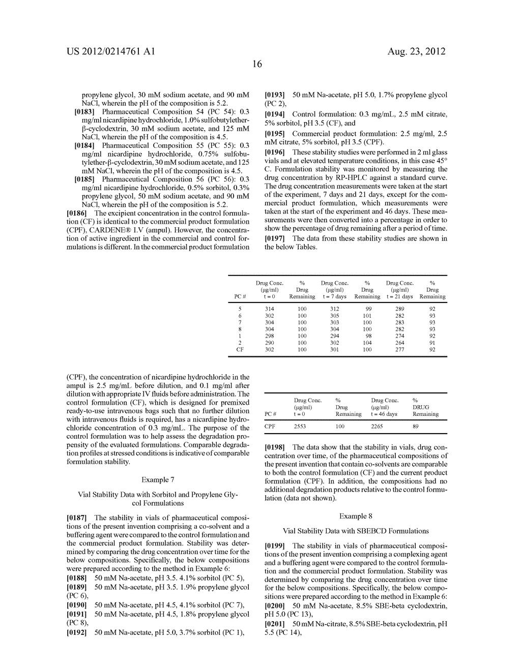 PRE-MIXED, READY-TO-USE IV BOLUS NICARDIPINE COMPOSITIONS AND METHODS OF     USE - diagram, schematic, and image 23