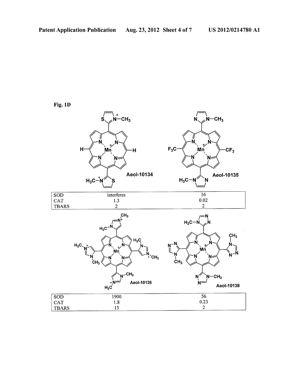 SUBSTITUTED PORPHYRINS - diagram, schematic, and image 05