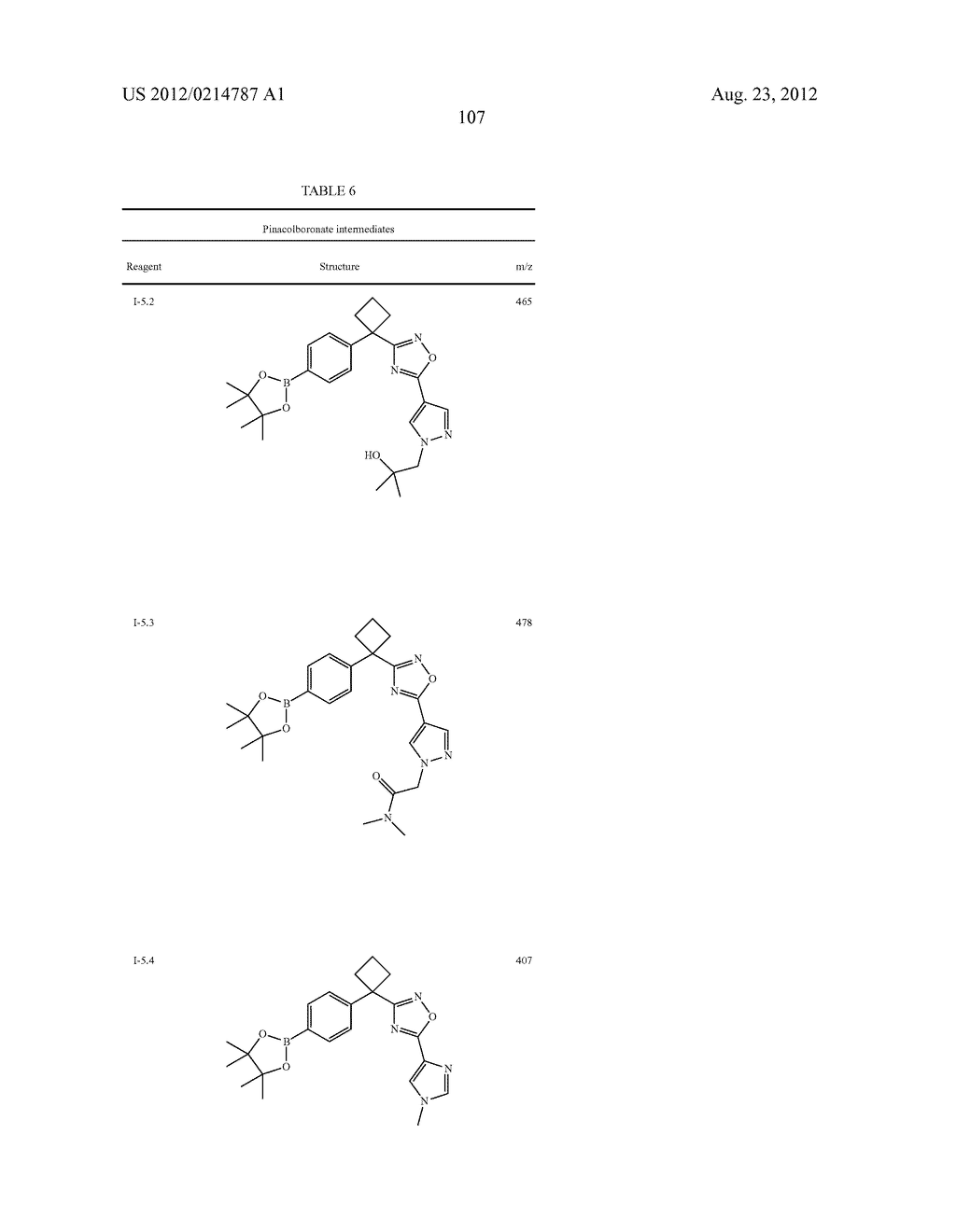 OXADIAZOLE INHIBITORS OF LEUKOTRIENE PRODUCTION - diagram, schematic, and image 108