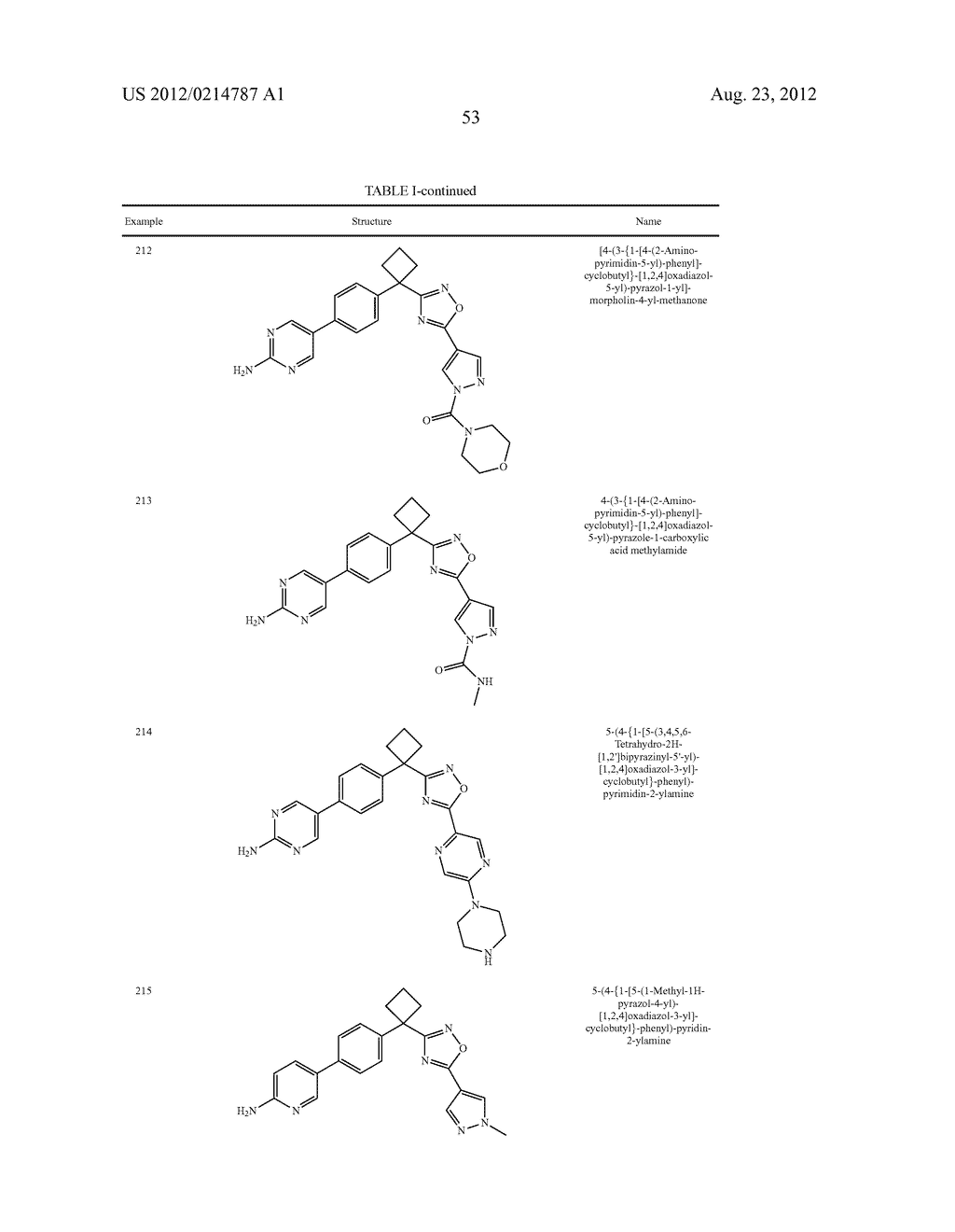 OXADIAZOLE INHIBITORS OF LEUKOTRIENE PRODUCTION - diagram, schematic, and image 54