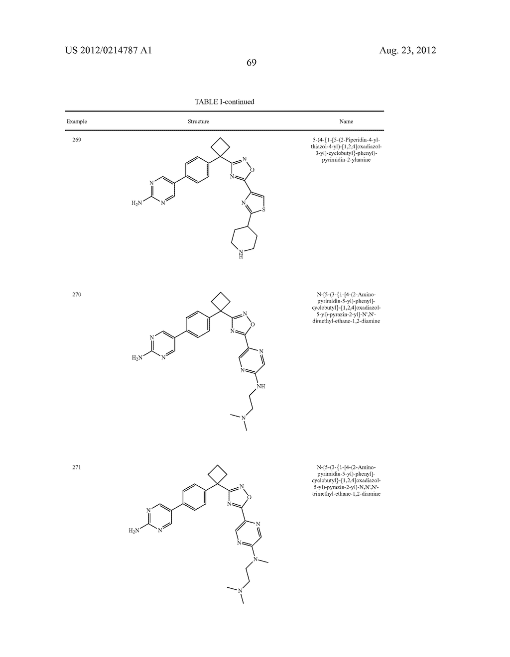 OXADIAZOLE INHIBITORS OF LEUKOTRIENE PRODUCTION - diagram, schematic, and image 70