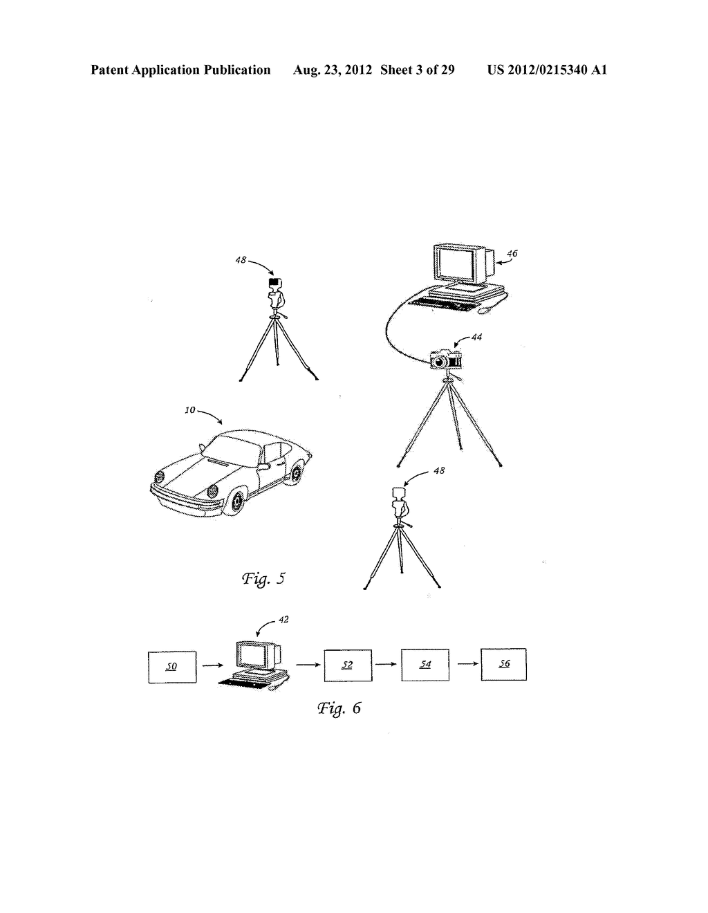METHOD FOR THE AUTOMATED PRODUCTION OF THREE-DIMENSIONAL OBJECTS AND     TEXTURED SUBSTRATES FROM TWO-DIMENSIONAL OR THREE-DIMENSIONAL OBJECTS - diagram, schematic, and image 04