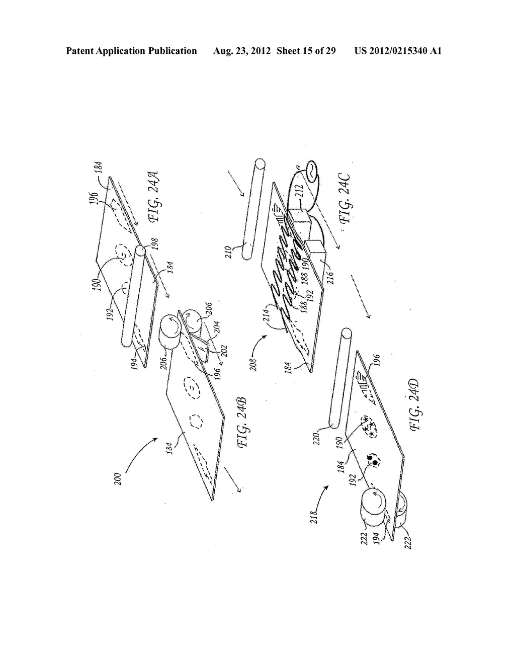 METHOD FOR THE AUTOMATED PRODUCTION OF THREE-DIMENSIONAL OBJECTS AND     TEXTURED SUBSTRATES FROM TWO-DIMENSIONAL OR THREE-DIMENSIONAL OBJECTS - diagram, schematic, and image 16