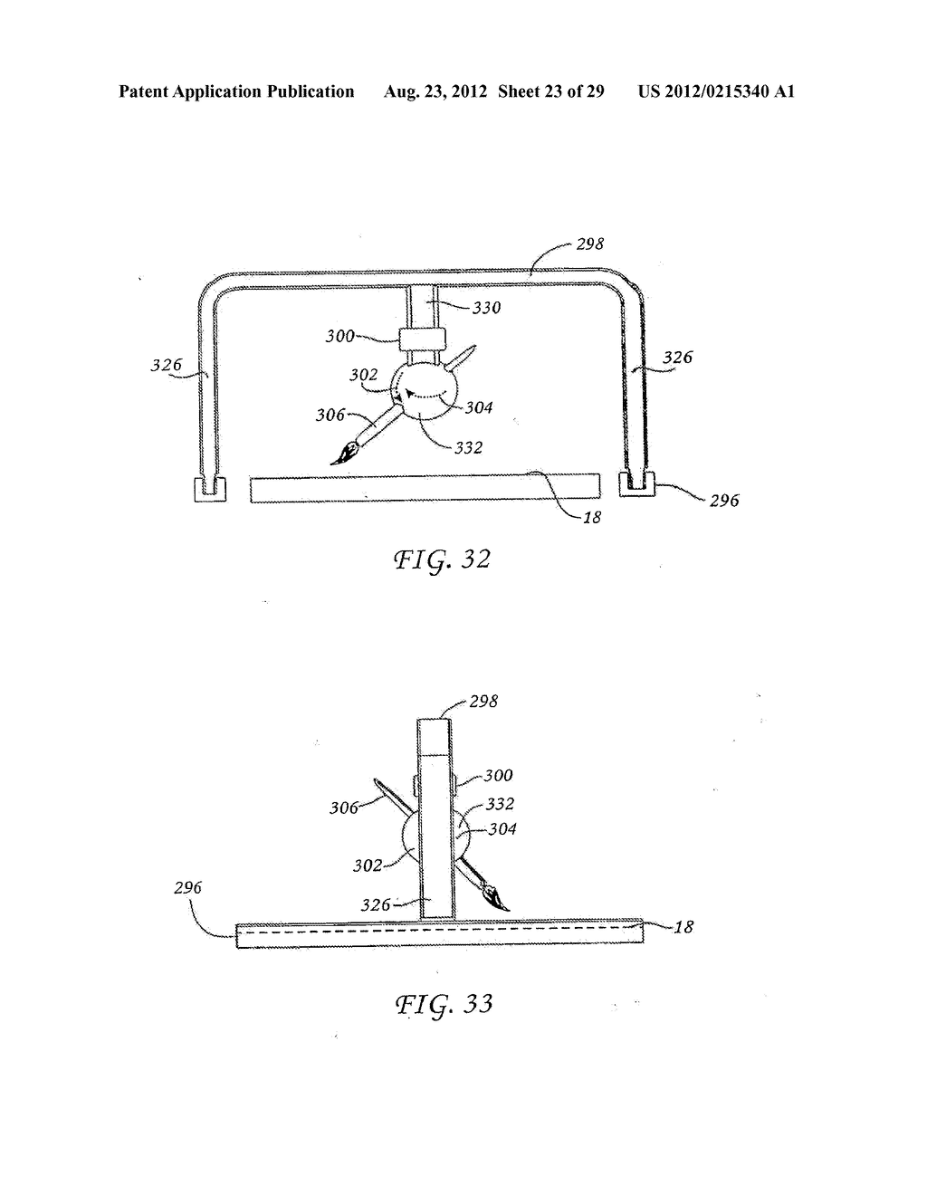 METHOD FOR THE AUTOMATED PRODUCTION OF THREE-DIMENSIONAL OBJECTS AND     TEXTURED SUBSTRATES FROM TWO-DIMENSIONAL OR THREE-DIMENSIONAL OBJECTS - diagram, schematic, and image 24