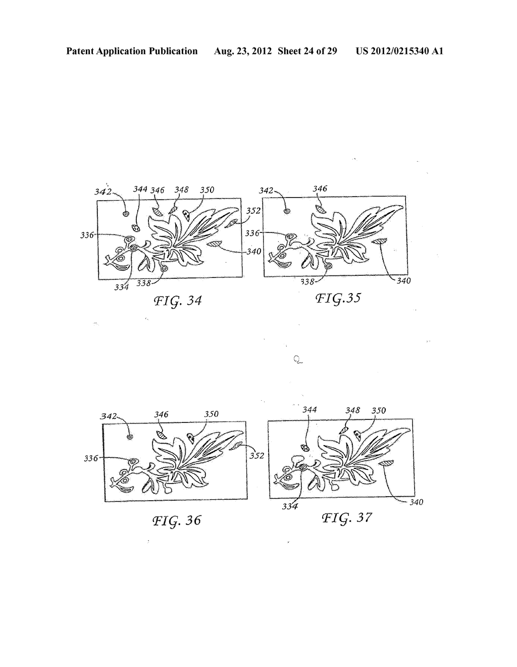 METHOD FOR THE AUTOMATED PRODUCTION OF THREE-DIMENSIONAL OBJECTS AND     TEXTURED SUBSTRATES FROM TWO-DIMENSIONAL OR THREE-DIMENSIONAL OBJECTS - diagram, schematic, and image 25