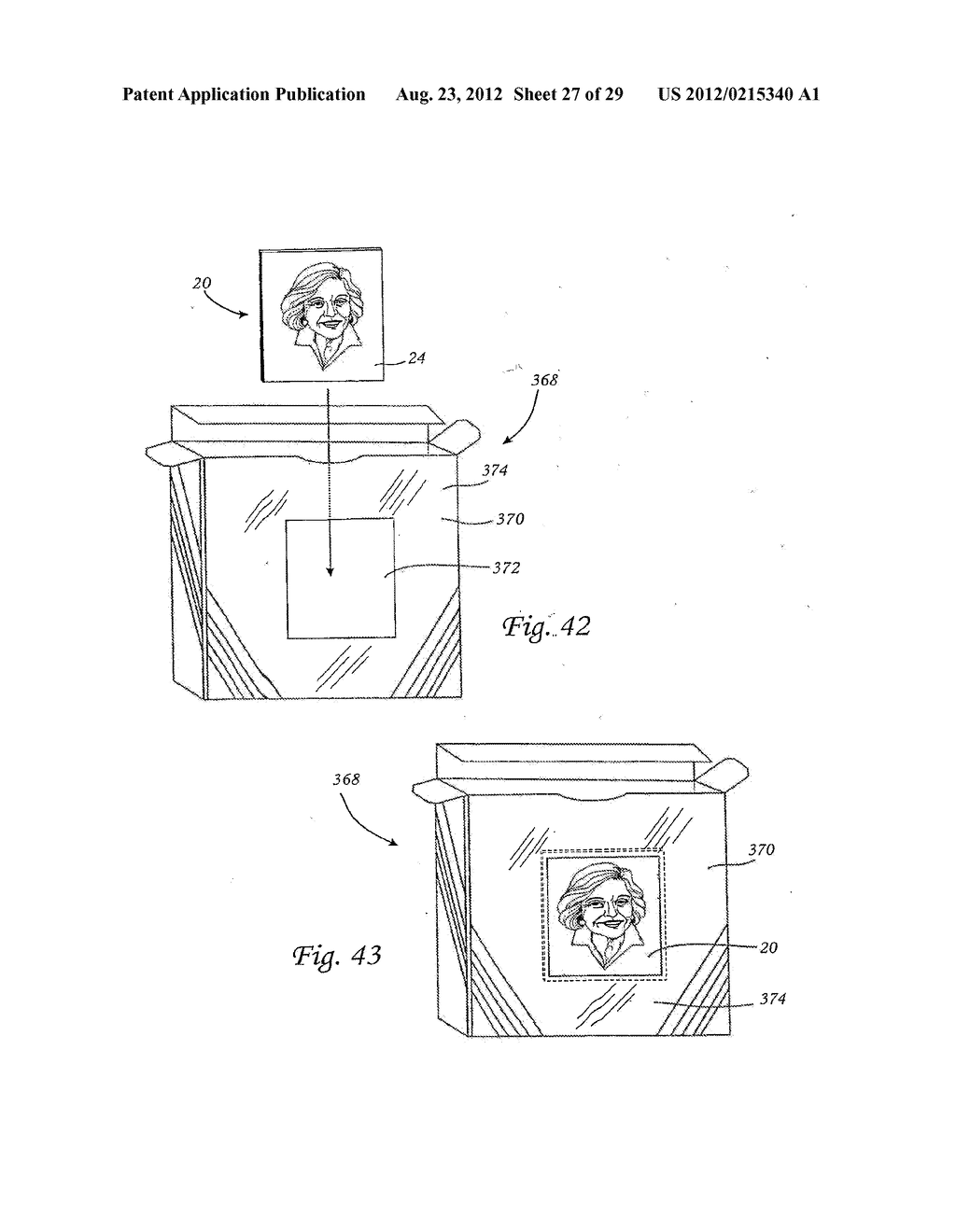 METHOD FOR THE AUTOMATED PRODUCTION OF THREE-DIMENSIONAL OBJECTS AND     TEXTURED SUBSTRATES FROM TWO-DIMENSIONAL OR THREE-DIMENSIONAL OBJECTS - diagram, schematic, and image 28