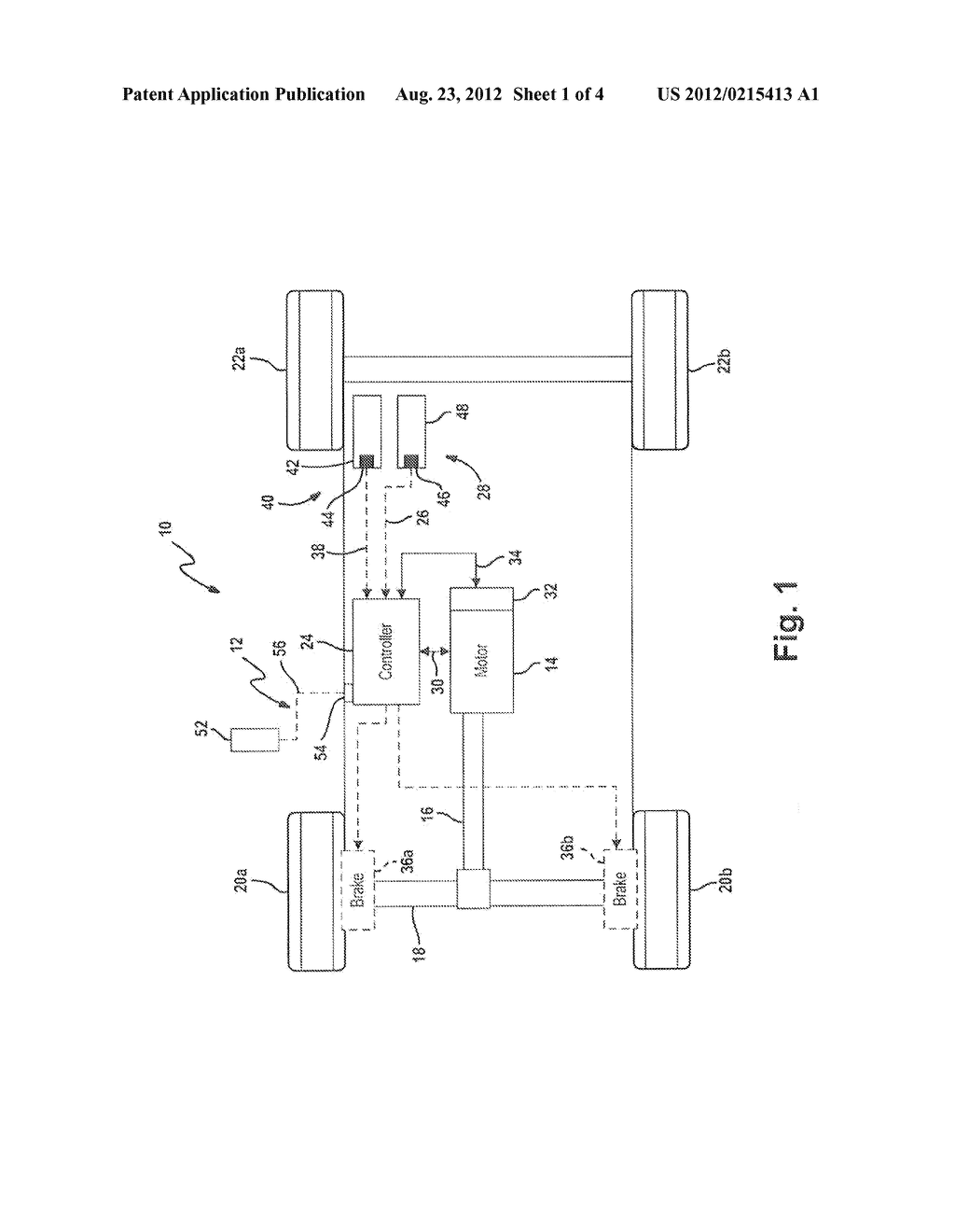 Electronic Passcode Key for Varying Operational Parameters of a Vehicle - diagram, schematic, and image 02