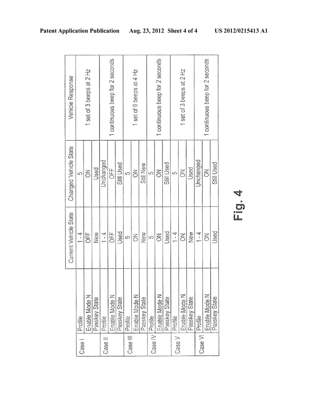 Electronic Passcode Key for Varying Operational Parameters of a Vehicle - diagram, schematic, and image 05