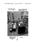 Automated Control of Analytical Sampling with Environmental Monitoring     System diagram and image