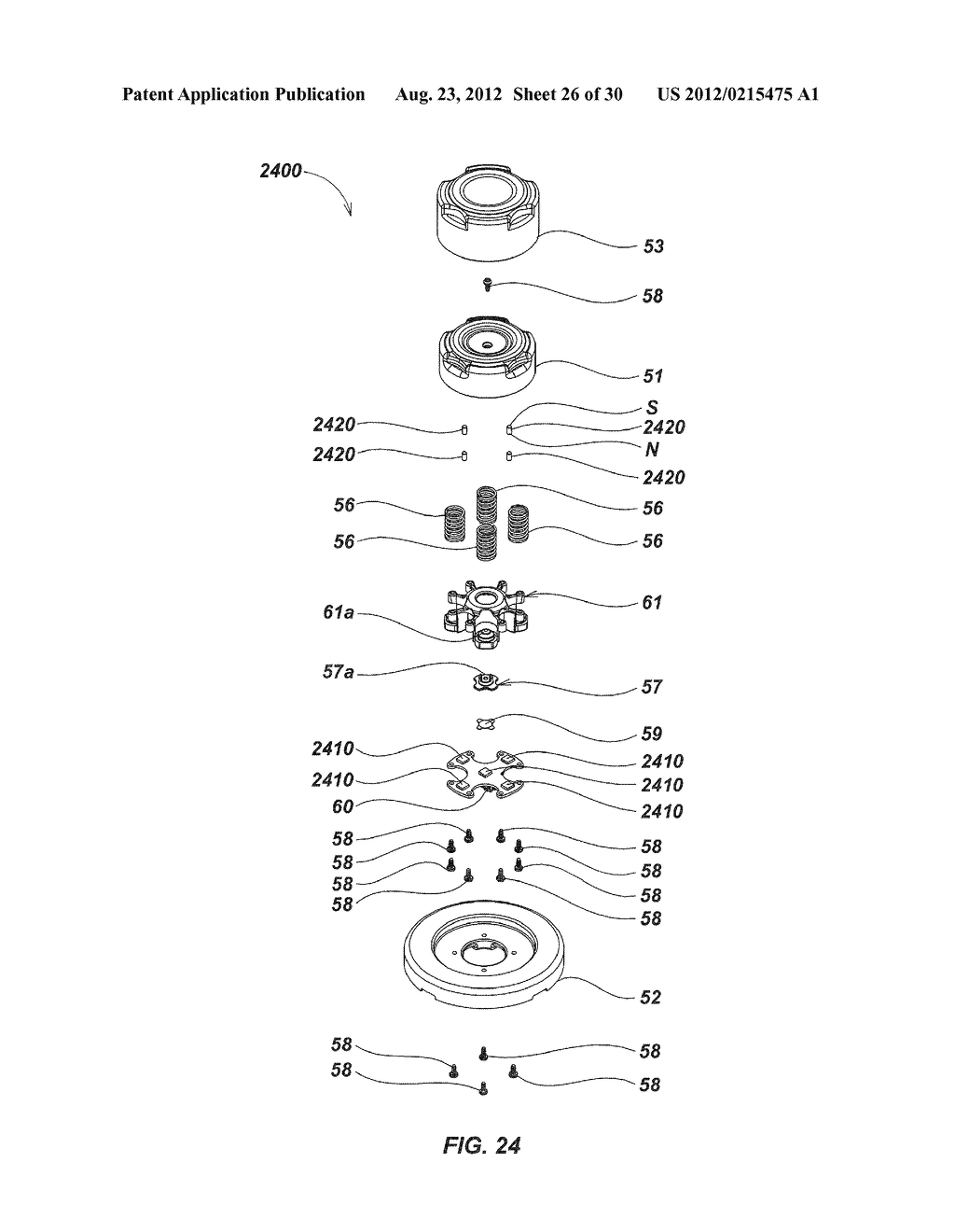 MAGNETIC SENSING USER INTERFACE DEVICE METHODS AND APPARATUS - diagram, schematic, and image 27