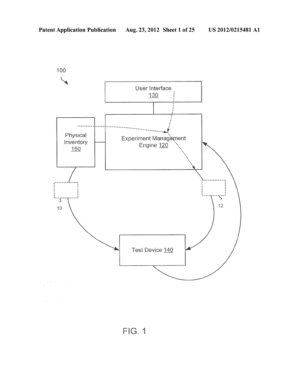 METHODS AND APPARATUS RELATED TO MANAGEMENT OF EXPERIMENTS - diagram, schematic, and image 02