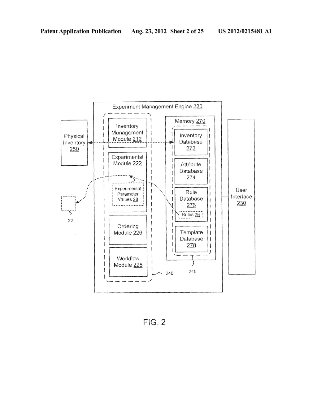 METHODS AND APPARATUS RELATED TO MANAGEMENT OF EXPERIMENTS - diagram, schematic, and image 03