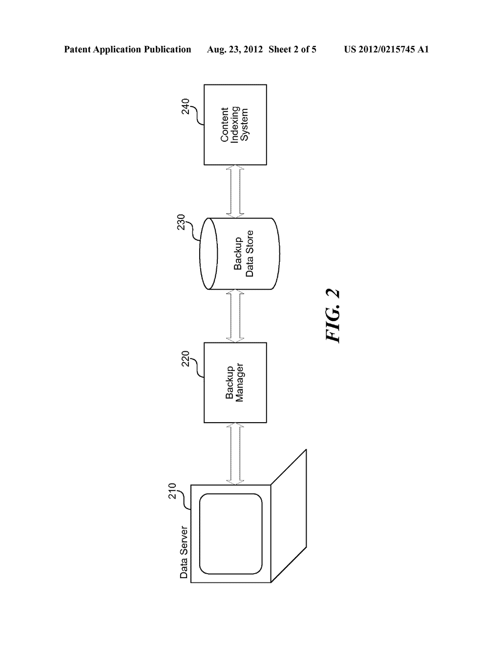 METHOD AND SYSTEM FOR OFFLINE INDEXING OF CONTENT AND CLASSIFYING STORED     DATA - diagram, schematic, and image 03