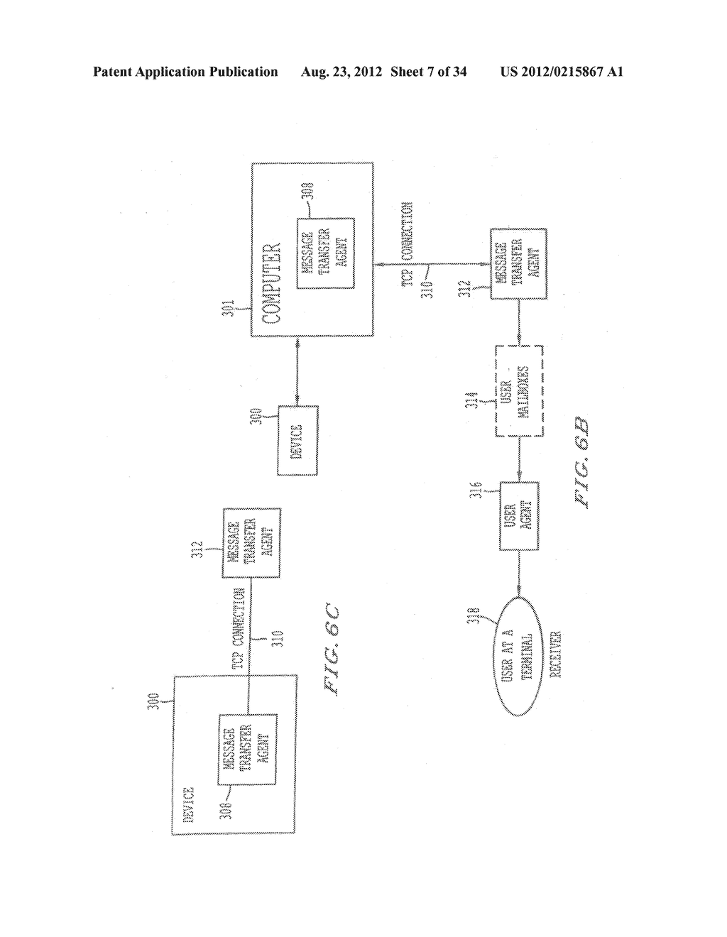 METHOD AND SYSTEM FOR REMOTE DIAGNOSTIC, CONTROL AND INFORMATION     COLLECTION BASED ON VARIOUS COMMUNICATION MODES FOR SENDING MESSAGES TO     USERS - diagram, schematic, and image 08