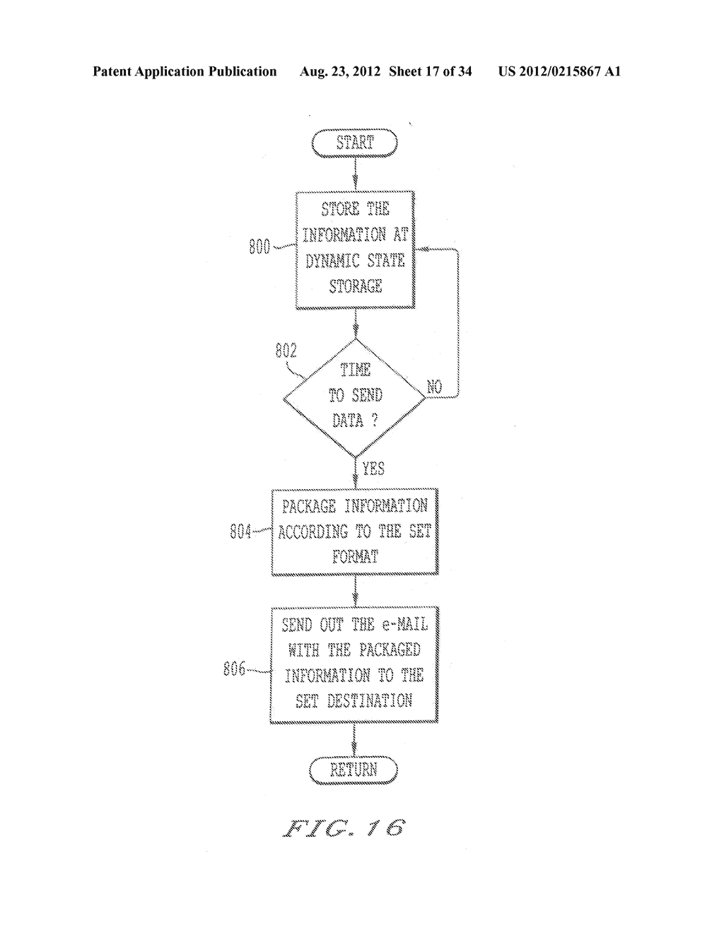 METHOD AND SYSTEM FOR REMOTE DIAGNOSTIC, CONTROL AND INFORMATION     COLLECTION BASED ON VARIOUS COMMUNICATION MODES FOR SENDING MESSAGES TO     USERS - diagram, schematic, and image 18