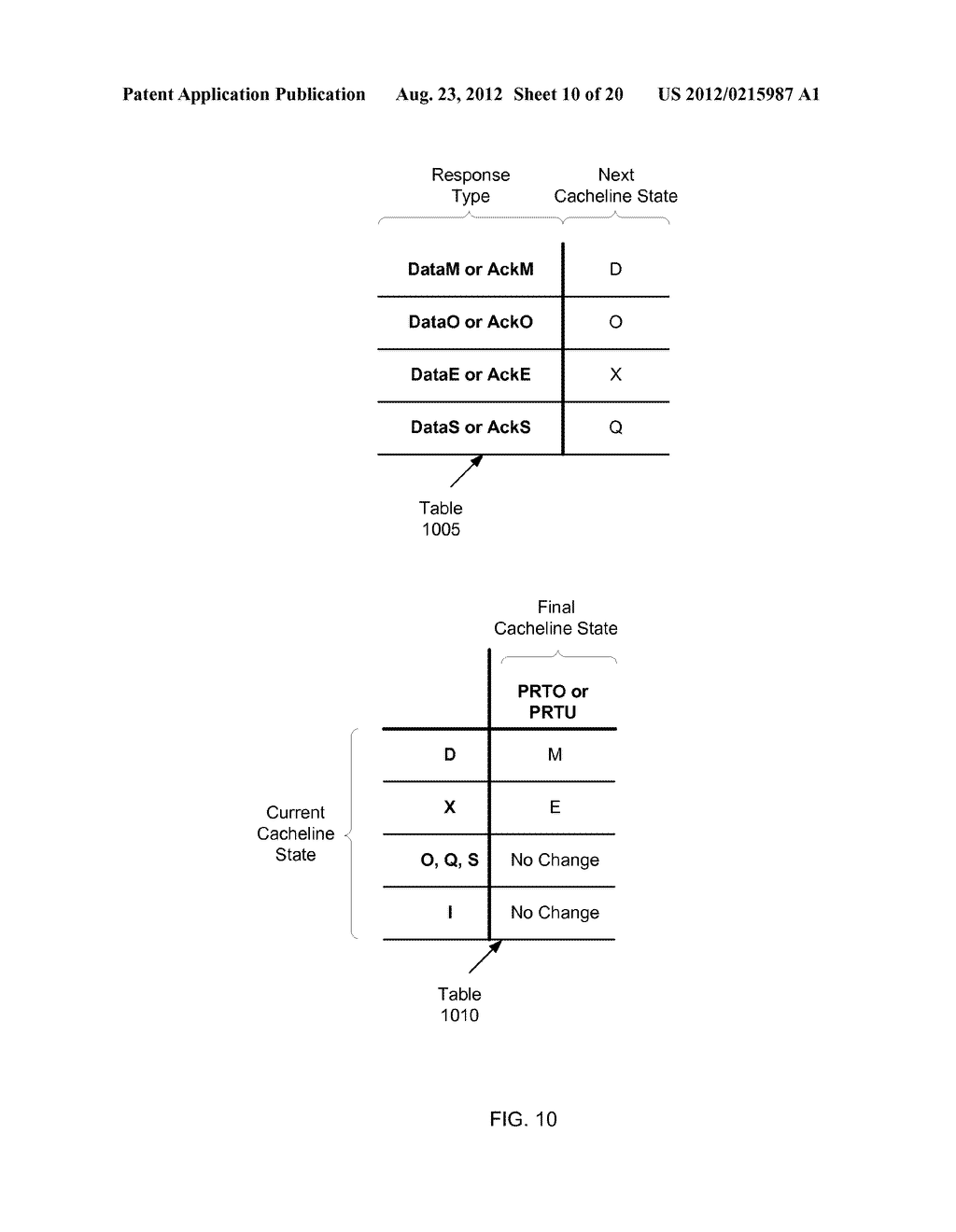 BROADCAST PROTOCOL FOR A NETWORK OF CACHES - diagram, schematic, and image 11
