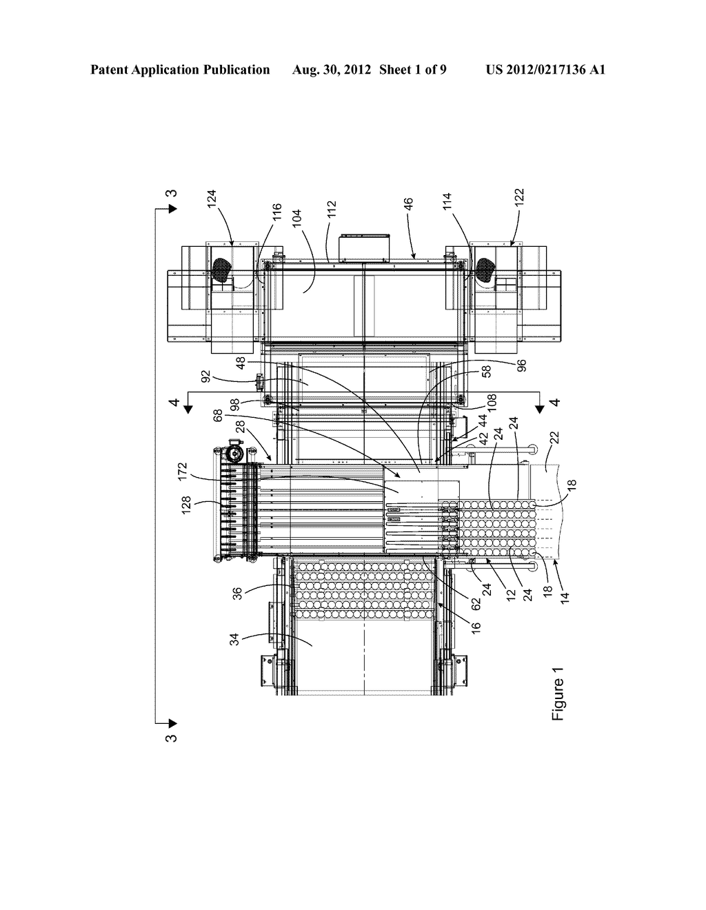 VACUUM CONVEYOR APPARATUS FOR STABILIZING MULTIPLE LANES OF OBJECTS     CONVEYED ON A CONVEYING SURFACE OF THE APPARATUS - diagram, schematic, and image 02